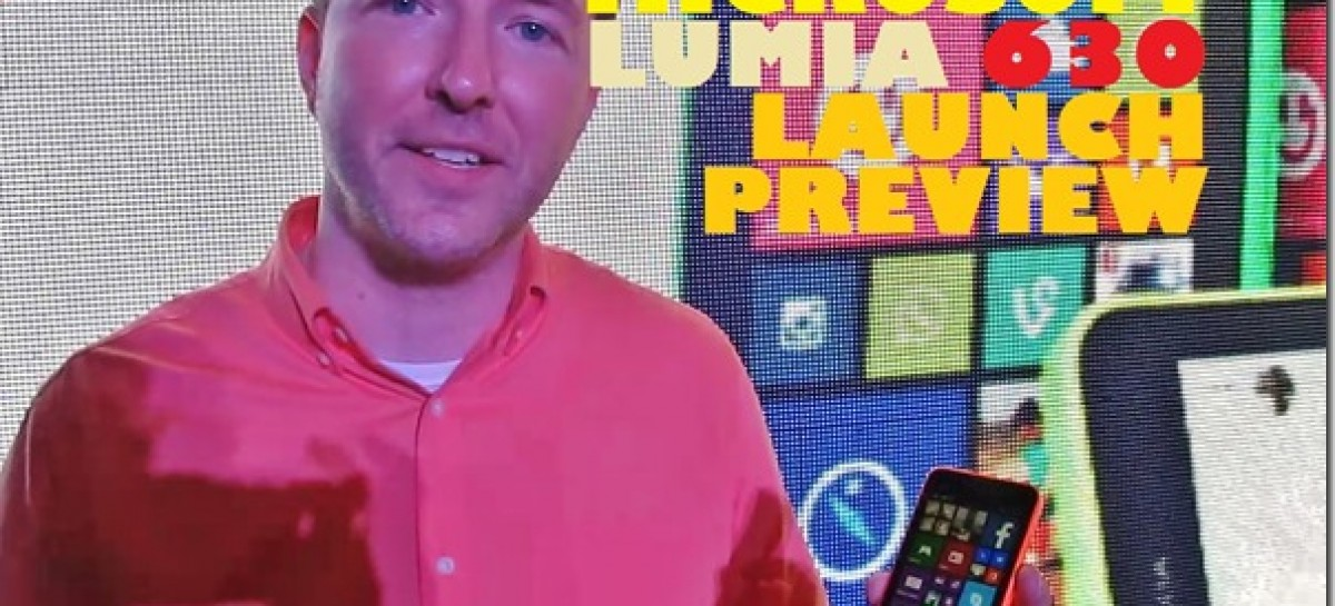 Microsoft Launches Nokia Lumia 630–Quad-Core Dual-SIM WP8.1 Device For PHP 7,990