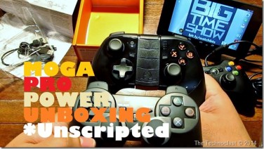 Moga Pro Power Unboxing (BTS Unscripted) – Bluetooth Controller & Battery Bank For P3.4k