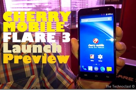 "Cherry Mobile Flare 3 Goes Quad-Core, 5"" qHD, & 8MP For Same Great PHP 3,999 Price"