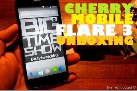 "Cherry Mobile Flare 3 Unboxing–Upgraded Spec Quad-Core 5"" For Only 4k! (Unscripted)"