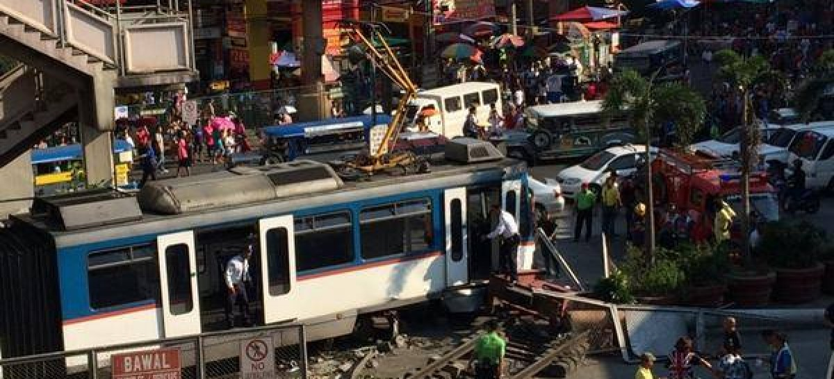 MRT Derails At Taft Station In Apparent Overshoot Accident