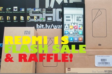Rafid Fire News: Xiaomi Redmi 1S Flash Sale (Sept 12) & We're Raffling Off A Redmi 1S Too!