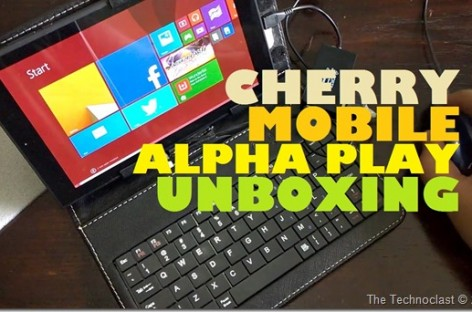 "Cherry Mobile Alpha Play Unboxing–8"" Full Windows 8.1 Tablet PC For Only PHP 7,999"