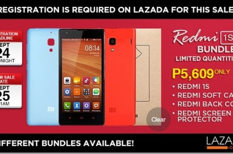 Xiaomi Redmi 1S Offers A Sweeter Deal With Three Additional Accessories For Just PHP 10
