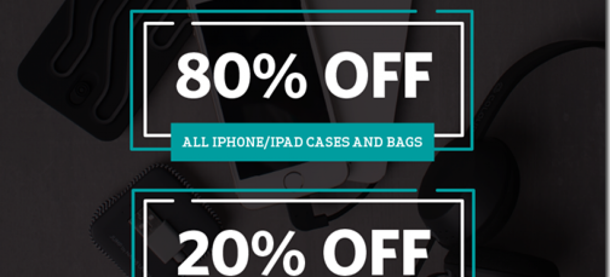 Beyond The Box Offers 80% Off On Cases & Bags At Century City Mall Store (Today Only)