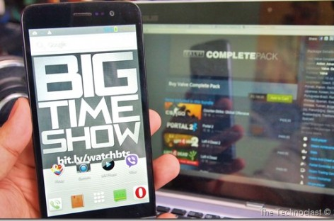 Big Time Show Year 3 Anniversary Raffle #3–Win A MyPhone Ocean Pro OR Steam Games!