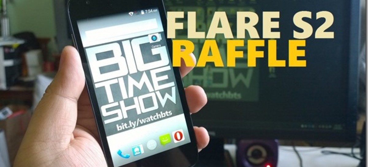 Big Time Show Year 3 Anniversary Raffle #4–Win A Cherry Mobile Flare S2!