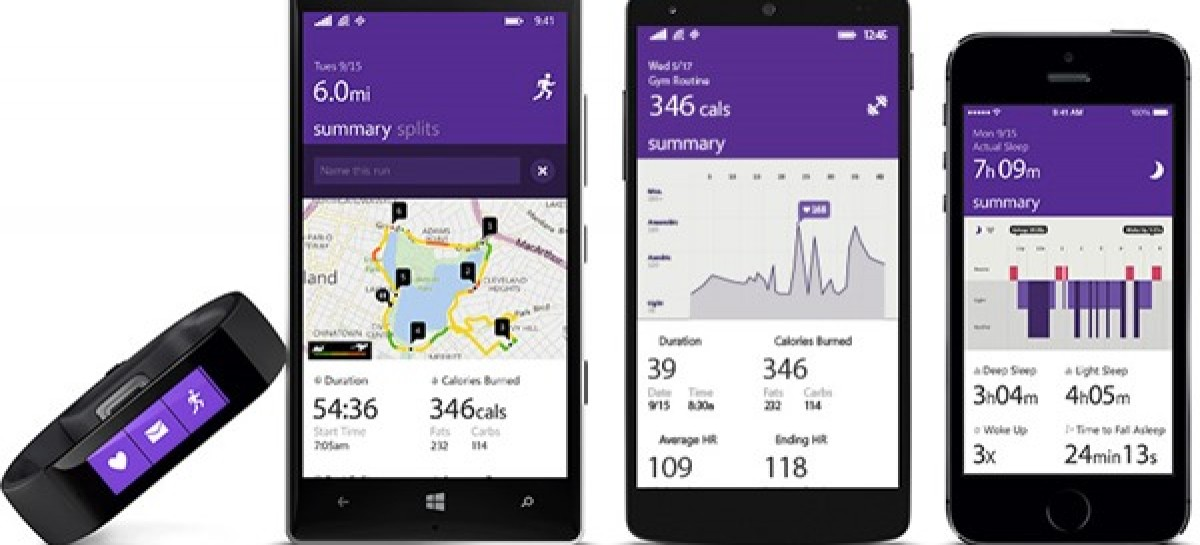 Microsoft Band Is A Multiplatform Smart Fitness & Wrist Wearable For US$199
