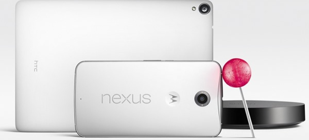 Google Announces Nexus 6, Nexus 9, & Nexus Player With Android 5.0 Lollipop Coming Nov