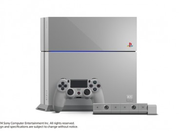 Limited 20th Anniversary Gray PS4's Will Be Sold To Lucky Winners Of Instagram Contest