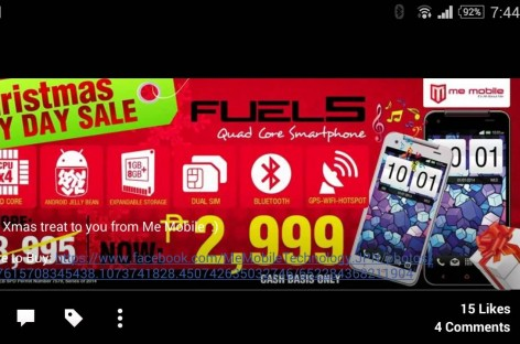 RFN: Me Mobile Sale – Quad-Core Tablets & 5″ HD Smartphones For Under PHP 3K!