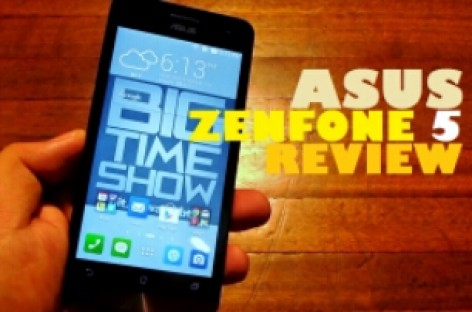Asus Zenfone 5 Review – Powerful 5″ Intel Atom Dual-SIM Smartphone With 2GB RAM For Only PHP 6,495