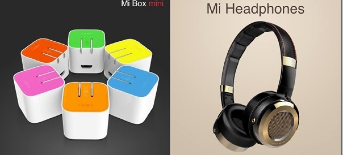 Xiaomi Accessories Also Announced–New Mi Headphones & Mi Box Compact Android TV