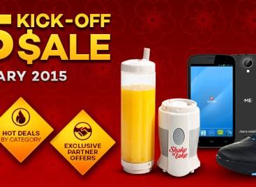 Lazada 2015 Kick-Off Sale Tomorrow Jan 27 – Giving Away PHP 500 Vouchers!