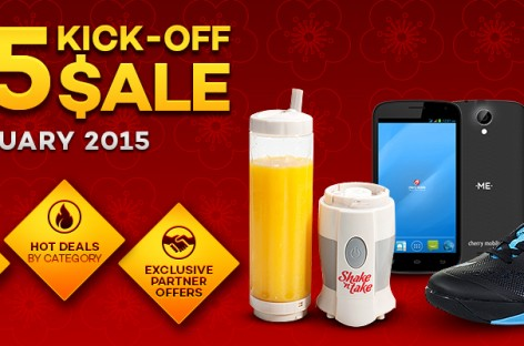 Lazada 2015 Kick-Off Sale Tomorrow Jan 27 – Giving Away PHP 500 Vouchers!