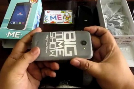 Cherry Mobile Me Unscripted Unboxing – 4.0″ Quad-Core With Personalized Back Cover For PHP 2,999