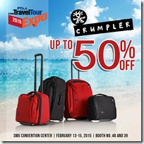 Crumpler x Traveltour Expo 2015