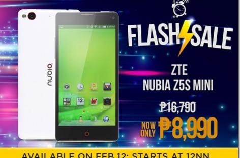 Lazada & ZTE To Discount Nubia Z5S Mini Tomorrow–Snapdragon 400 & LTE For P9k!