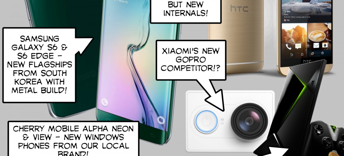 BTS 3/7/2015 – Samsung Galaxy S6 & S6 Edge, HTC One M9, Cherry Mobile Alpha Neon & View, Xiaomi G…