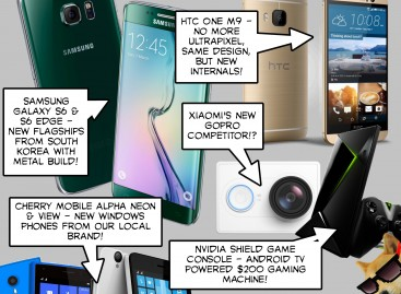 BTS 3/7/2015 – Samsung Galaxy S6 & S6 Edge, HTC One M9, Cherry Mobile Alpha Neon & View, Xiaomi G…