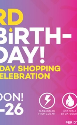 Lazada Celebrates 3 Years With More Huge Sales From March 24 To 26