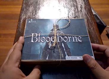 Bloodborne Teaser Media Kit Unboxing – PS4 Hack & Slash Coming March 24!