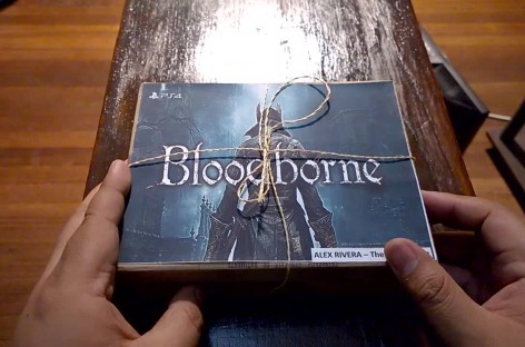 Bloodborne Teaser Media Kit Unboxing – PS4 Hack & Slash Coming March 24!