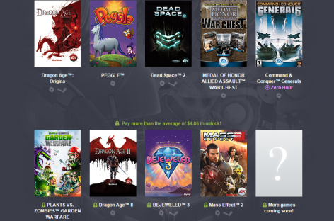 Humble Origin Bundle 2  Offers AAA Games Like Mass Effect 2 & Dragon Age For Under $5