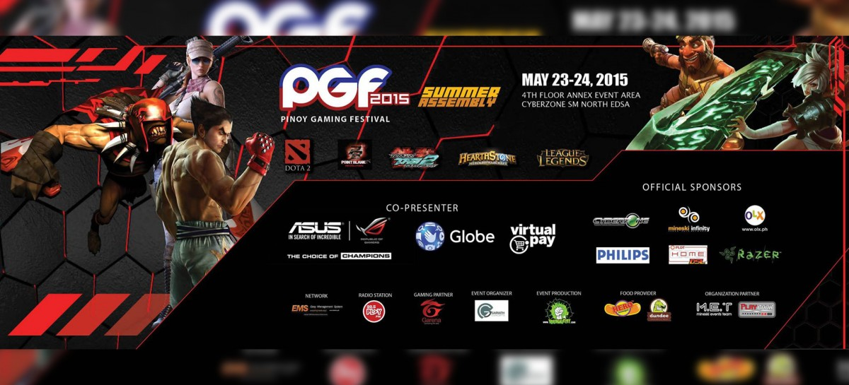 PSA: Pinoy Gaming Festival Offers Free Entrance This Weekend; All Gaming Fans Welcome