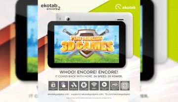 Ekotek Launches Ekotab Encore 2 – Quad-Core 7″ Tablet For PHP 2,499*