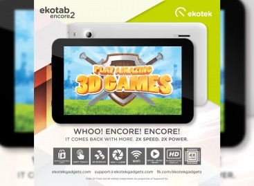 Ekotek Launches Ekotab Encore 2 – Quad-Core 7″ Tablet For PHP 2,499*