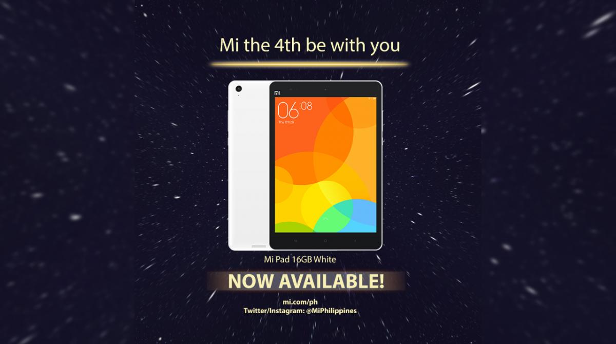 PSA: The Xiaomi Mi Pad With It's Powerful Tegra K1 Processor Is On Sale Now