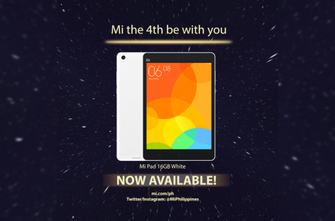 PSA: The Xiaomi Mi Pad With It's Powerful Tegra K1 Processor Is On Sale Now