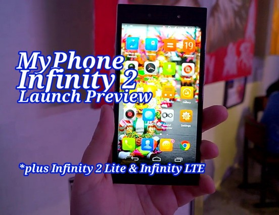 MyPhone Launches Flagship Octa-Core Infinity 2 With Pro Camera; Alongside Infinity 2 Lite & Infinity LTE