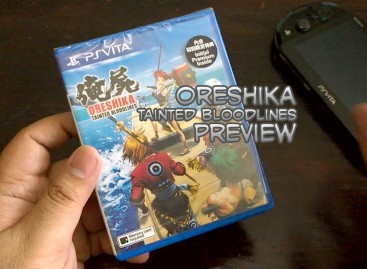 Oreshika: Tainted Bloodlines Unboxing & Preview (PS Vita Japanese RPG)