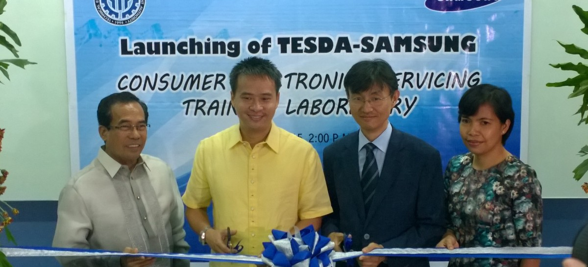 Samsung & TESDA Launch Technical Training Center For Out Of School Youth