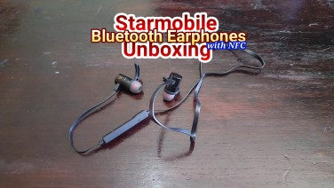 Starmobile Bluetooth Earphones With NFC Unscripted Unboxing – Wireless Headphones For PHP 1,490
