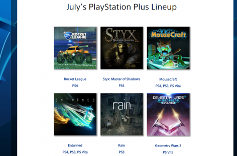 PlayStation Plus Free Games For July 2015 (US & Asia Region)