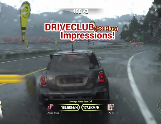"Driveclub PS Plus Edition First Impressions – How Good Is This ""Free"" PS4 Racing Game?"