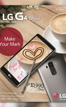 LG PH Announces G4 Stylus Mid-ranger With Pen Functionality For PHP 10,990