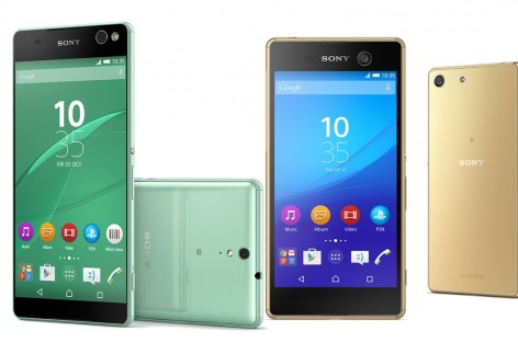 Sony International Launches Near Bezel-Free Xperia C5 Ultra & Waterproof Xperia M5