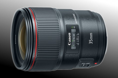 Canon Launches New EF35mm f/1.4L II USM Lens With BR Optics