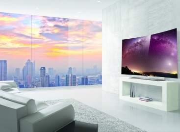 LG Launches World's First 4K Curved OLED TVs In The Philippines
