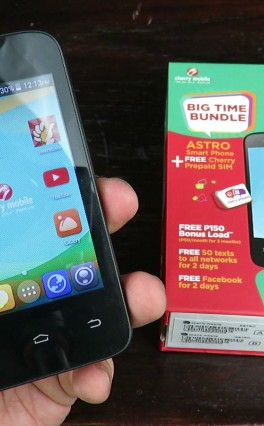 Cherry Mobile Astro Review – Smartphone With Free Cherry Prepaid SIM For PHP 999