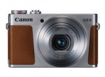 Canon Launches G9 X Enthusiast Camera With 1″ Sensor; Much Slimmer Than G7 X