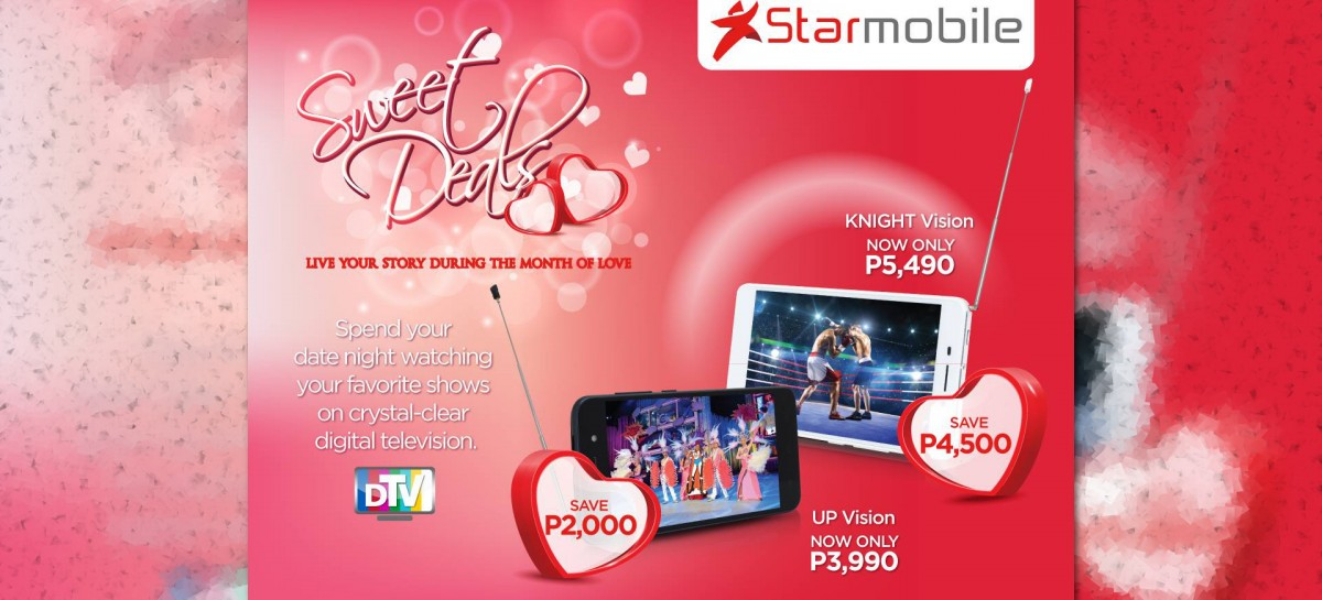 Starmobile Discounts Knight Vision & Up Vision In Preparation For Valentines Day