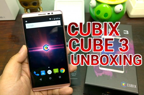 Cherry Mobile Cubix Cube 3 Unboxing – 64-Bit Octa-Core With 5.5″ HD Display For Only PHP 4,999