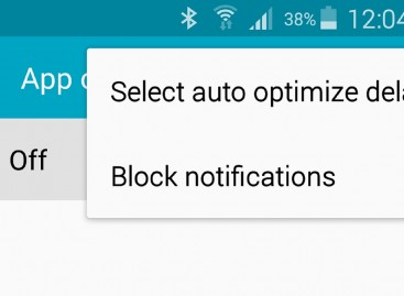 You Can Now Disable The Annoying App Optimization Notification On The S5 After An Update
