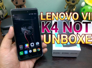 Lenovo Vibe K4 Note Unboxing – Affordable VR Smartphone With NFC & Fingerprint Scanner!