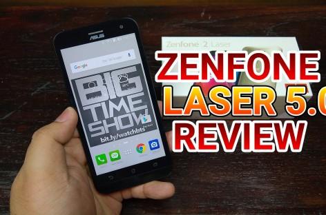 Asus Zenfone 2 Laser 5.0″ Review (ZE500KL) – Firin' Mah Lazer Autofocus for PHP 7,295